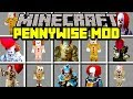 Minecraft IT PENNYWISE MOD! | SURVIVE AGAINST PENNYWISE CLOWN ARMY! | Modded Mini-Game