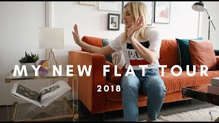 MY NEW FLAT TOUR 2018 || INTERIOR INSPO STYLE LOBSTER