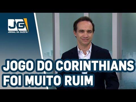 Celso Cardoso/Jogo do Corinthians foi tão ruim que virou castigo para o torcedor