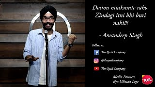 Muskurate Raho - Amandeep Singh | The Quill Company thumbnail