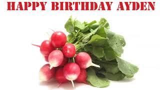 Ayden   Fruits & Frutas - Happy Birthday