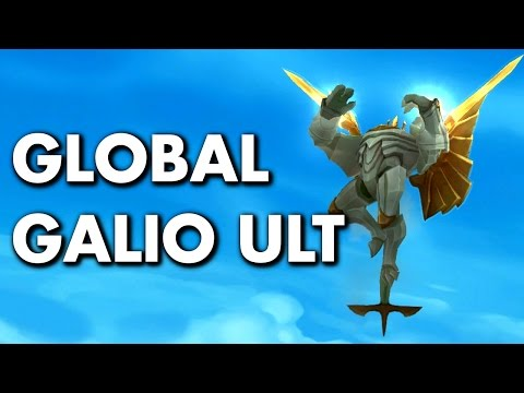 GALIO GLOBAL ULTIMATE! - How to?