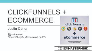 ClickFunnels for eCommerce - Free Webinar Training Session