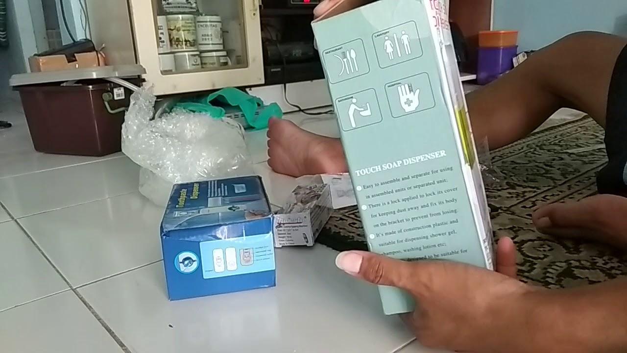 Video Unboxing Dispenser Sabunodol Dan Staples Plastik Youtube Odol