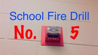 School Fire Drill #5 - Basement | 3-8-18