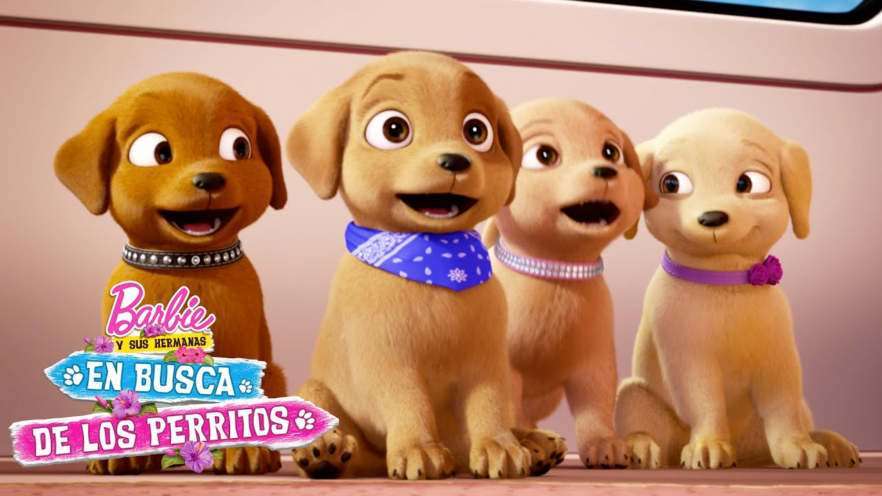 Coche Parque De Perritos Barbie Y Sus Hermanas En Busca De Los Perritos Barbie Latinoamérica Youtube