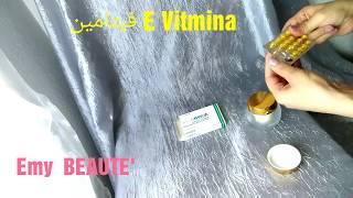 فيتامين E لازالة الحبوب واثاره والحصول على وجه صاف مع طريقة الاستعمال