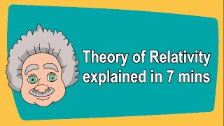 Repeat youtube video Theory of relativity explained in 7 mins
