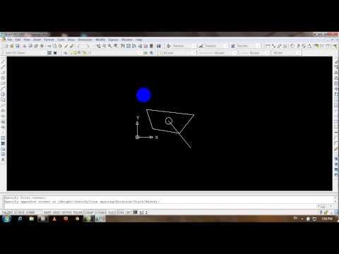 Video hướng dẫn xác định trọng tâm 1 hình bất kì trong AutoCad