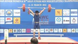 Тяжелая атлетика: У.Жакишев на молодежном чемпионате Азии