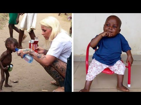 "This Nigerian ""Witch Child"" Was Left To Starve To Death, But How He's Recovered Since Is Astonishing"