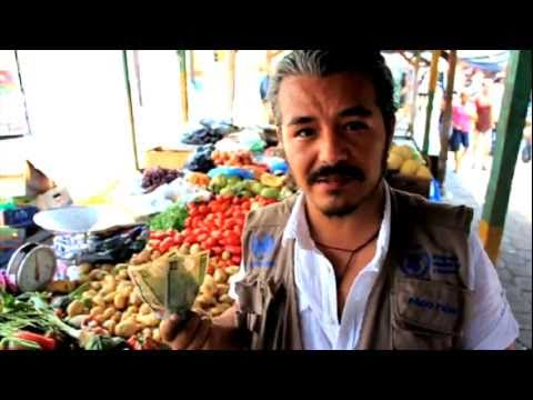 Shopping with a dollar in Guatemala