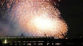 Japanese fireworks 2018 | 多摩川花火大会2018