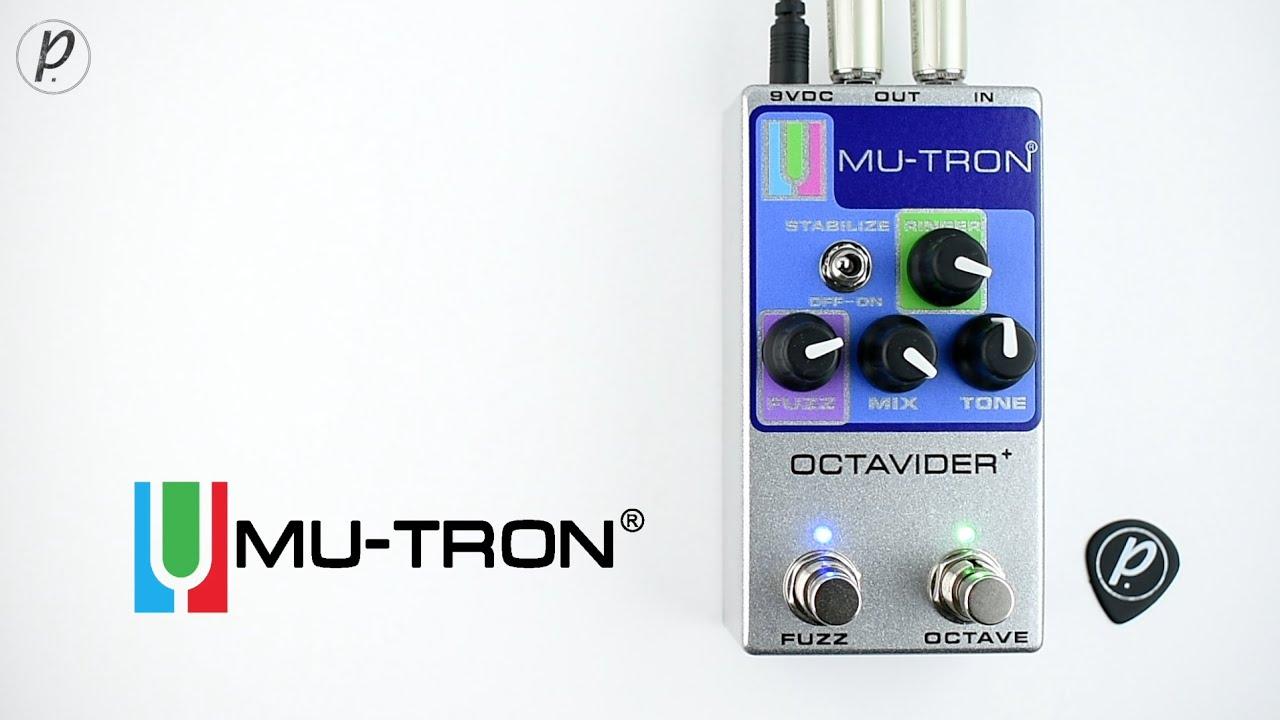 Mu-Tron Octavider+ Analog Octave Fuzz