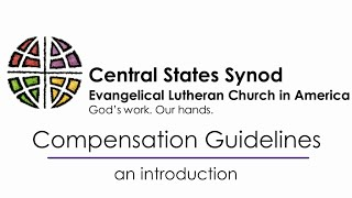 Compensation Guidelines Tutorial