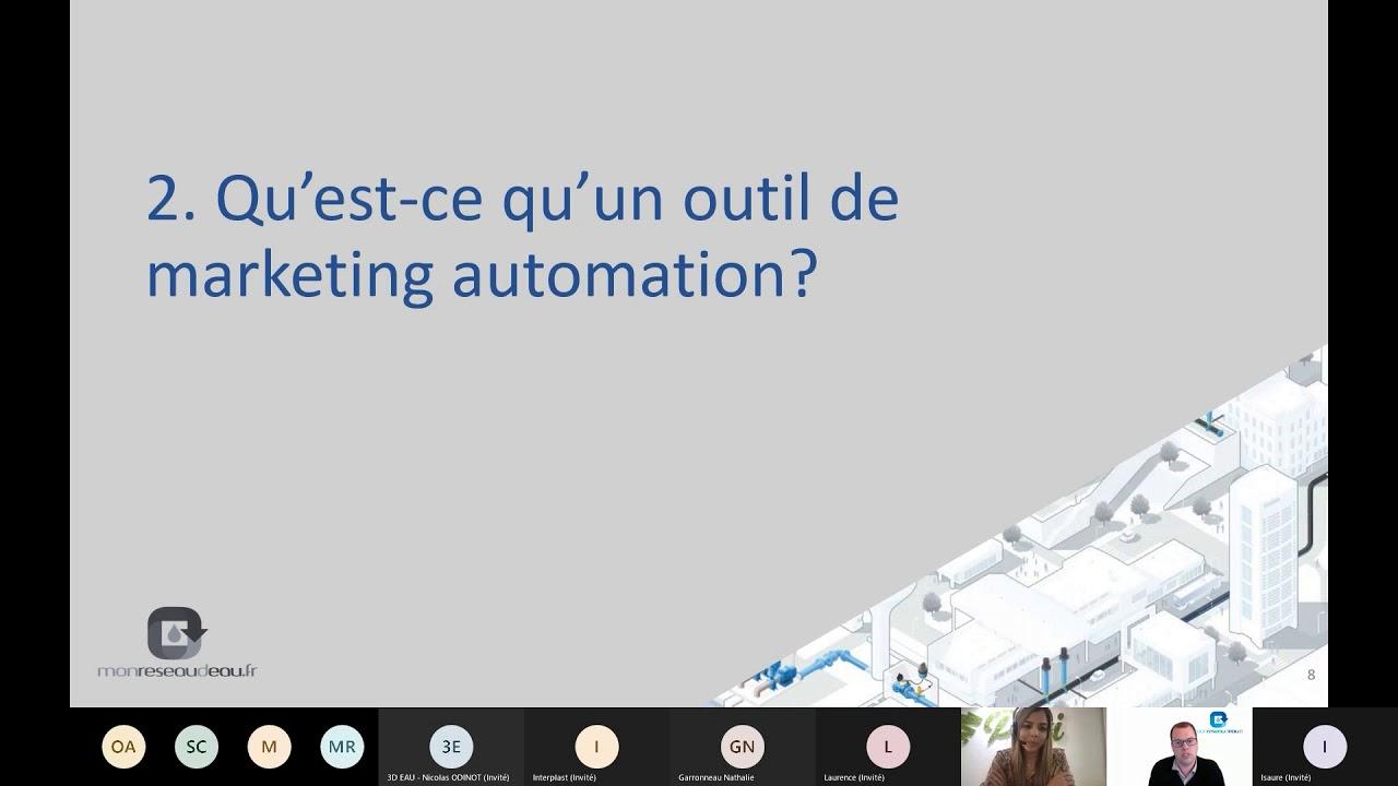 Revoir le webinaire : le Marketing Automation pour rentabiliser vos événements