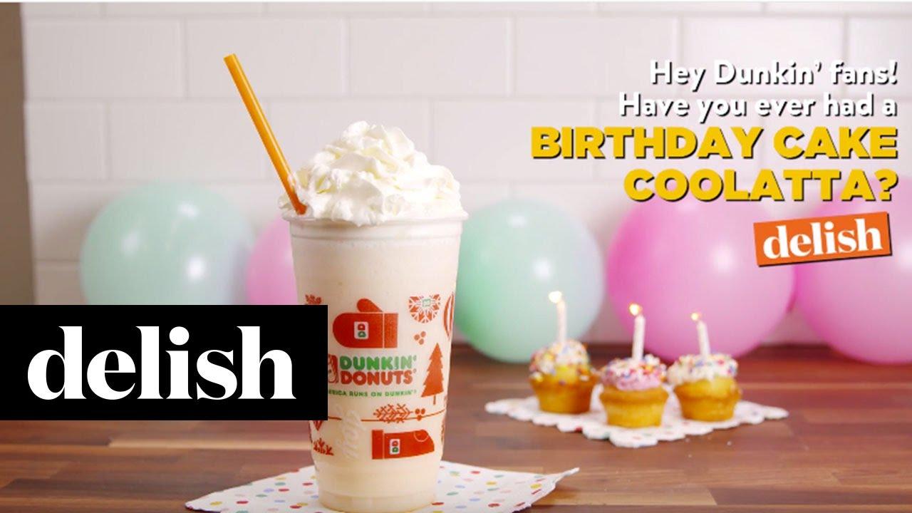 Birthday Cake Coolatta