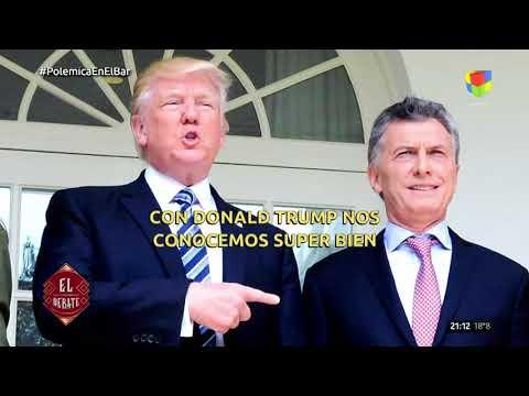 Albertito le cantó a la amistad entre Macri