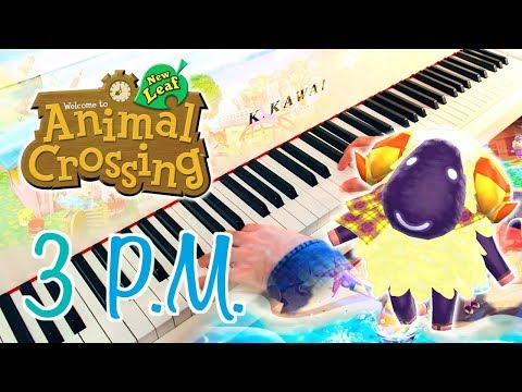 🎵 3PM (Animal Crossing: New Leaf) ~ Piano cover w/ Sheet music!