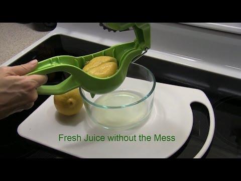 Best Lemon/Lime Squeezer - Fresh lemon juice with No Mess - Squissors