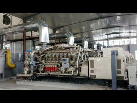 Ettespower 2MW 2×1000kW Oilfield Associated Petroleum Gas Engine Generator Power Plant Ettes Power