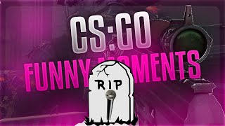 """CSGO FUNNY MOMENTS: """"R.I.P MICROPHONE"""""""