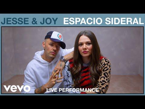 Jesse & Joy – Espacio Sideral (Live Performance) | Vevo
