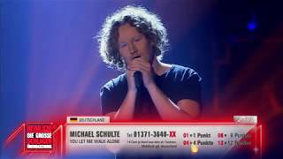 Michael Schulte - You Let Me Walk Alone 2018