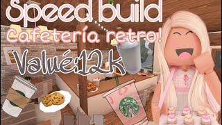 Cafetería retro/speedbuild |xsischerrx| bloxburg ROBLOX/leer desc../