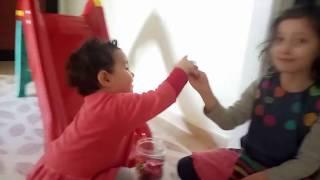 Kaydıraktan Harfleri Kaydırıyoruz...Eğlenceli Çocuk Videosu