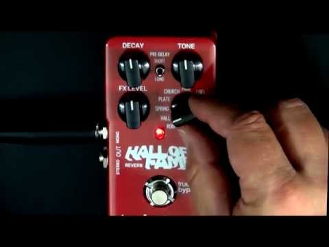 TC Electronic Hall Of Fame Reverb Guitar Effects Pedal Review