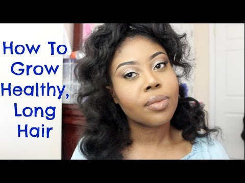 How To Grow Healthy, Long Hair | Curls 'N' Tel