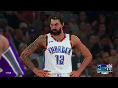NBA 2K18 Sacramento Kings vs Oklahoma City Thunder