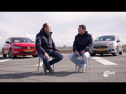 ANWB Dubbeltest Ford Fiesta Vignale vs. Volkswagen Polo Beats 2018