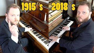 Kun je het verschil horen tussen een piano uit 1915 en een piano uit 2018?