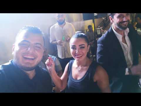 رقص  ديمة بياعة وزوجها أحمد الحلو والفنانة ديمة الجندي ولفنانة مها المصري مع الفنان عامر رزوق