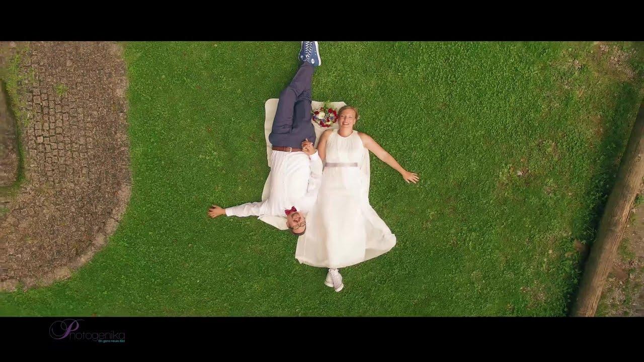 Drohne Zur Hochzeit Individuelle Hochzeitsfotos Aus Der Luft