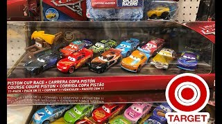 Target Toy Hunt New Release Disney Cars PISTON CUP RACE 11 Pack MATER LIGHTNING BOLT