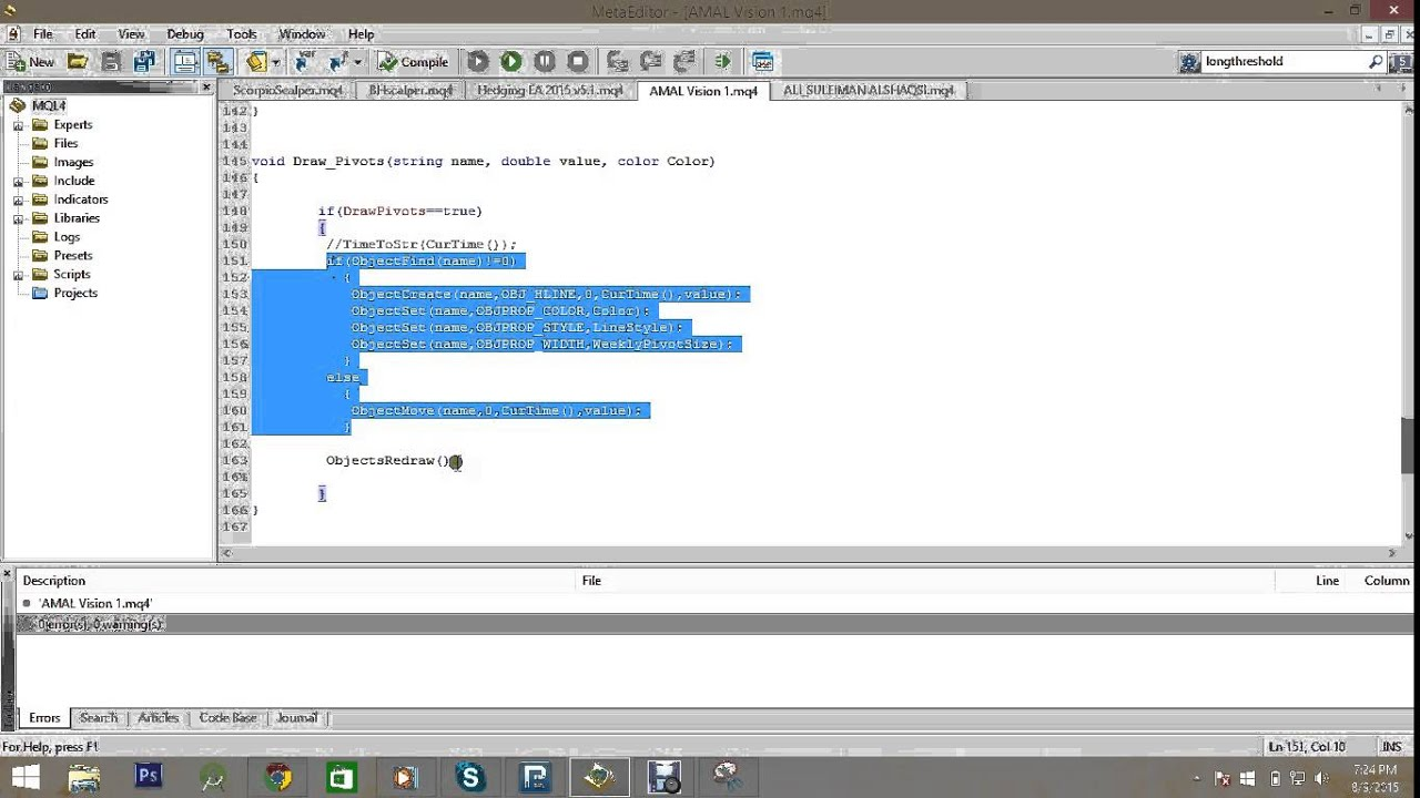 MQL programming Tutorial 45 - More about Creating objects