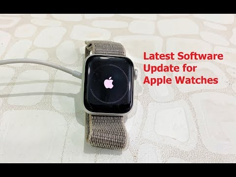 Latest Software Update For Apple Watches-2020