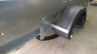 Увеличение грузоподъёмности прицепа Трейлер с кузовом 3.0х1.5 Часть 2
