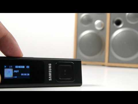Samsung Digital Audio Player YP-U6 Review