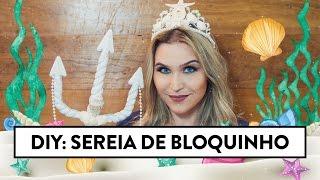 Como fazer coroa de sereia | Lu Ferreira