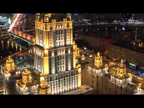 This is how Moscow looks this winter