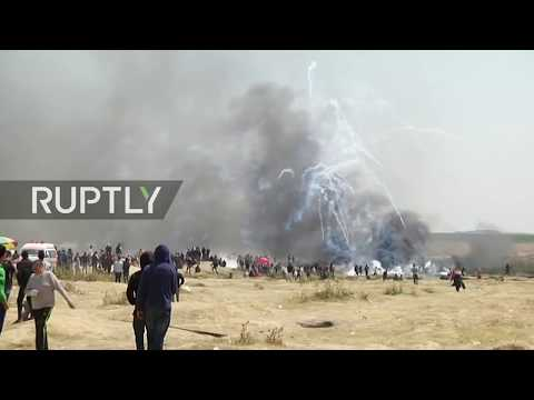 LIVE: New protests in Gaza for March of Return