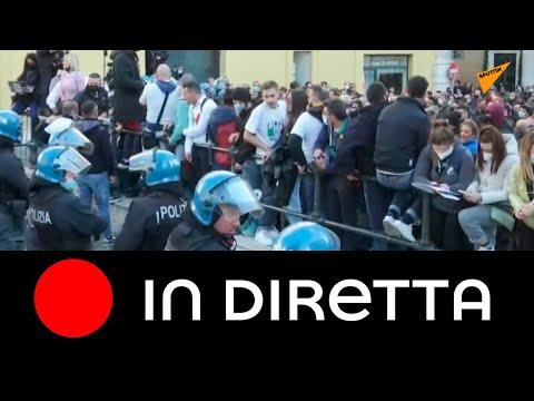 Roma: protesta dei