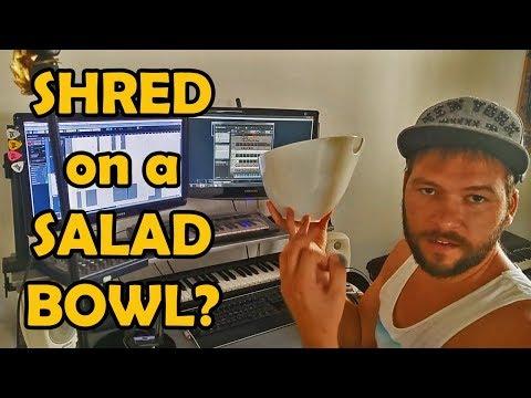 SHRED on a SALAD BOWL?! Desert's keyboardist reveals some secrets.
