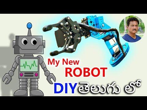 my-new-robot-unboxing-&-diy-in-telugu...-🔥🔥