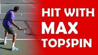 Maximize Your Topspin | TOPSPIN