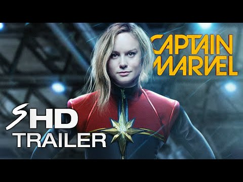 Marvel's Captain Marvel - (2019) BRIE LARSON Movie Trailer (Fan Made)